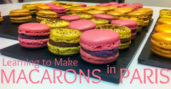 Learning to Make French Macarons in Paris