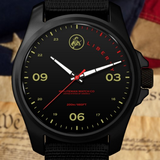 Minuteman MM02 DLC Liberty Watch