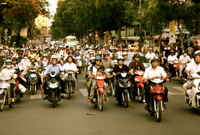 Sunday Snapshot | Rush Hour in Vietnam | Ho Chi Minh City