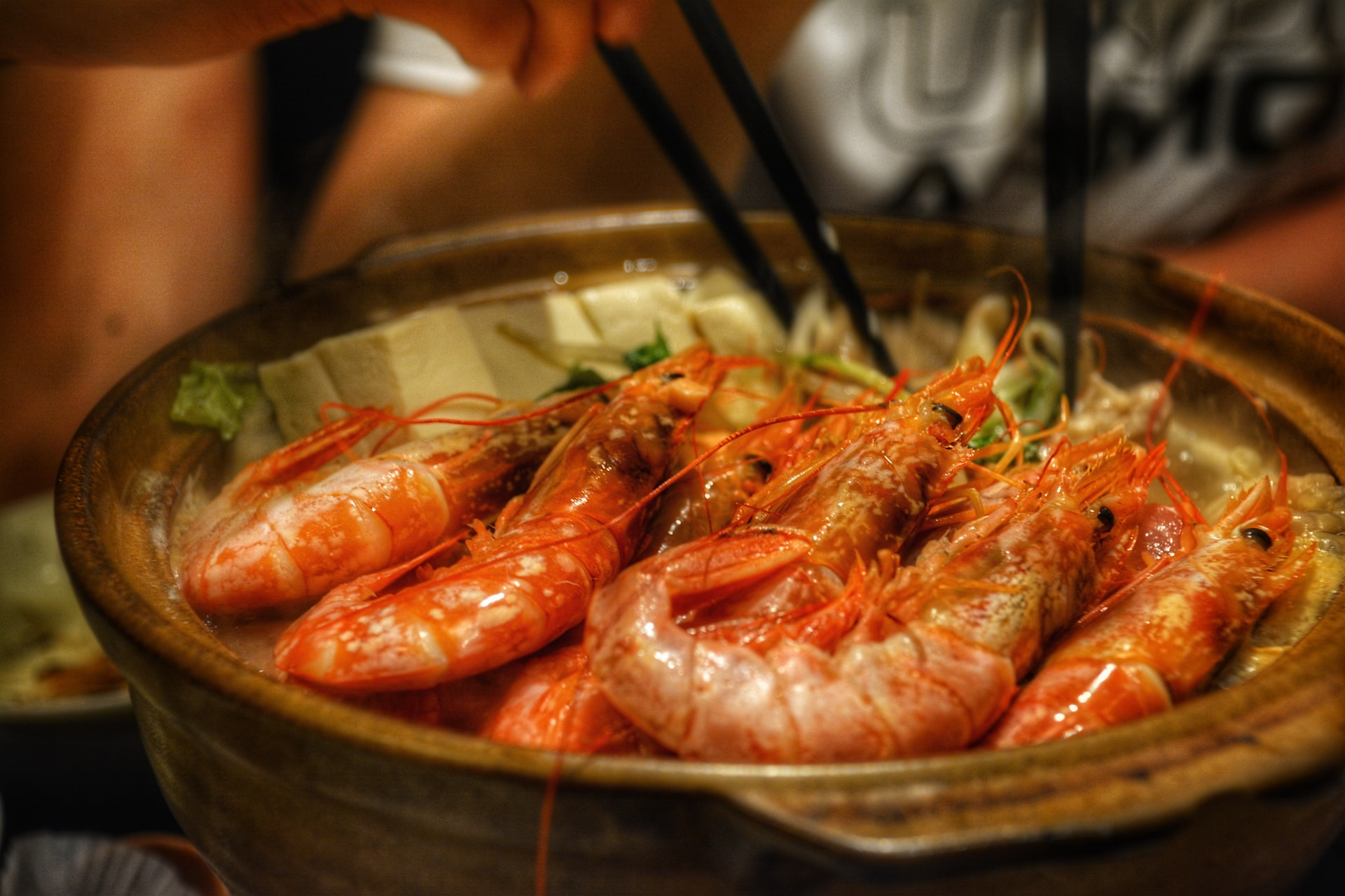 fresh seafood dinner on an outlying island in Hong Kong