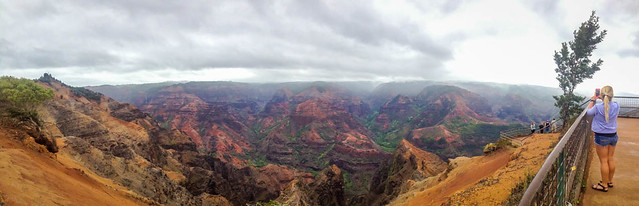 Waimea Canyon With No Fog